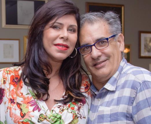 Susy Ayres e Luis Villarino