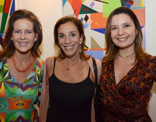 Tatiana Mendonça, Alicinha Silveira e Alice Barbosa Lima