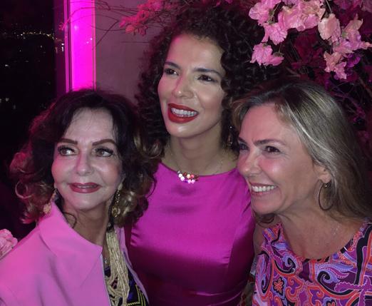 Vera, Vanessa e Márcia