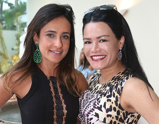 Adriana Sorrentino e Rosa Leal
