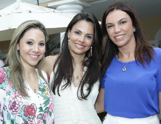 Alessandra Amaral, Fernanda Coque Cardoso e Ana Paula Araújo