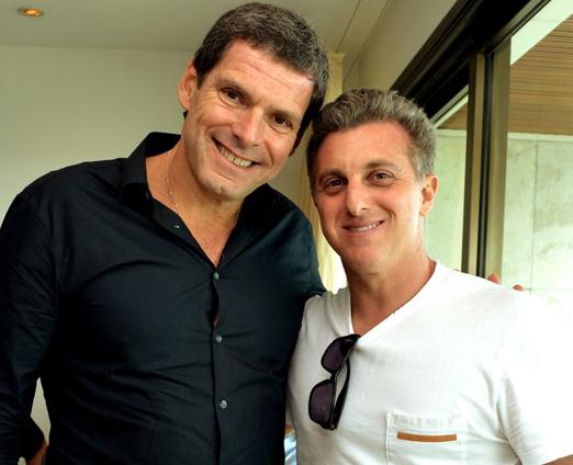 Alexandre Accioly e Luciano Huck