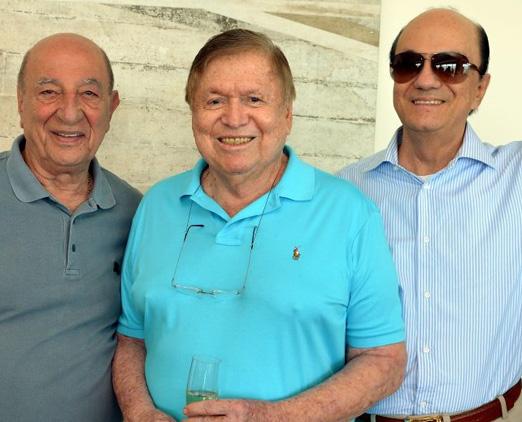 Anísio Abraão David, Boni e Maurício Mattos