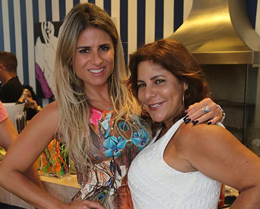 Ana Paula Barbosa e Leila Mendes