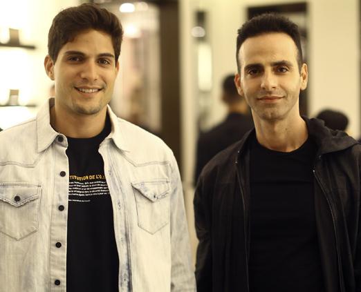 André Martinelli e Luis Fiod