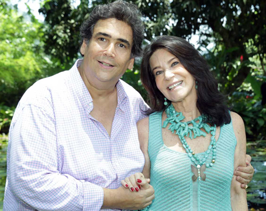 Antonio Neves da Rocha e Teresa Aczel