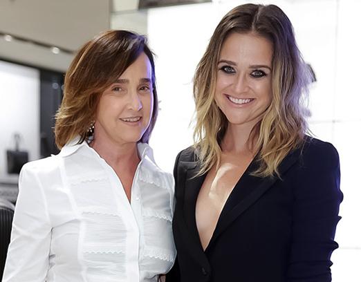 Bebel Niemeyer e Maria Teixeira de Mello