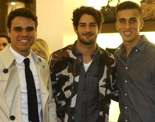 Beto Pacheco, Alexandre Pato e João Schmidt