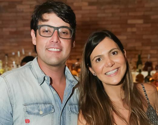 Bruno De Luca e Carol Sampaio