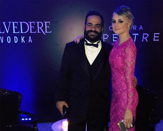 Flávia Leite e Rodrigo Vasconcellos