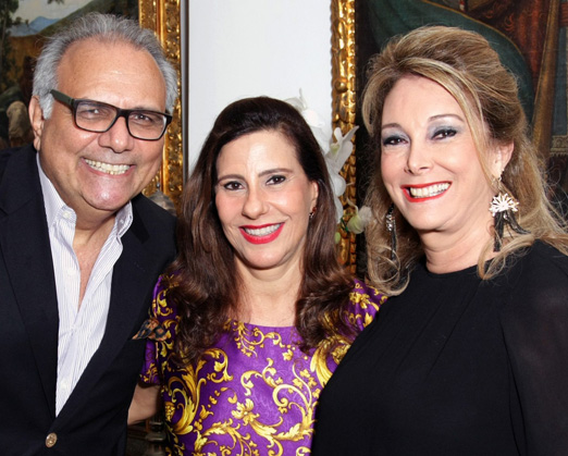 Franklin Toscano, Alice Tamborindeguy e Sheila Barros