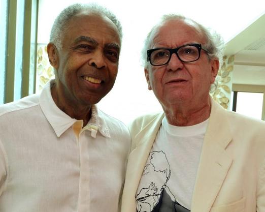 Gilberto Gil e Washington Olivetto
