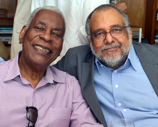 Haroldo Costa e Jorge Bastos Moreno
