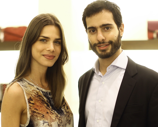 Janna Palma e Bruno Waisman