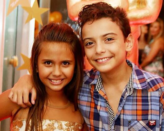 Mariana Lewis e Miguel Costa