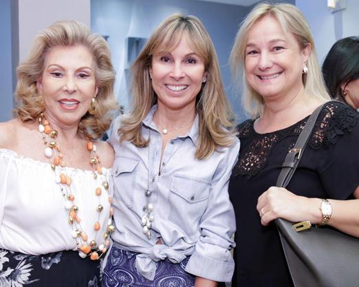 Marisa Coser, Andrea Rudge e Angela Gouvea Vieira