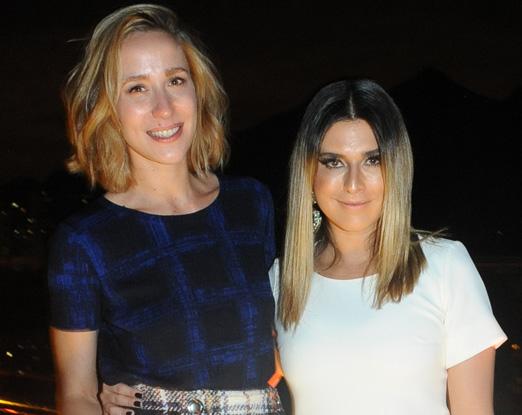 Paola de Orleans e Bragança e Fernanda Paes Leme