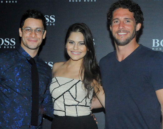 Rainer Cadete, Jessika Alves e Flavio Canto