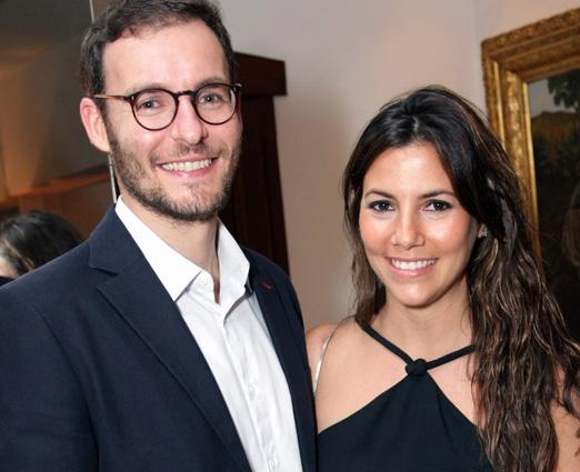 Ricardo Manela e Nicole Tamborideguy