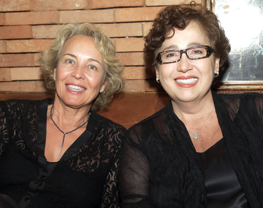 Stella Torreão e Claudia Jimenez