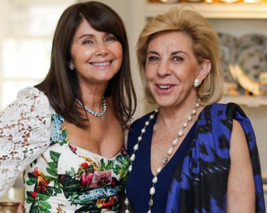 Tania Bulhões e Bete Arbaitman