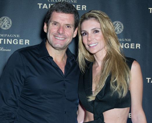 Alexandre Acciolly e Renata Padilha