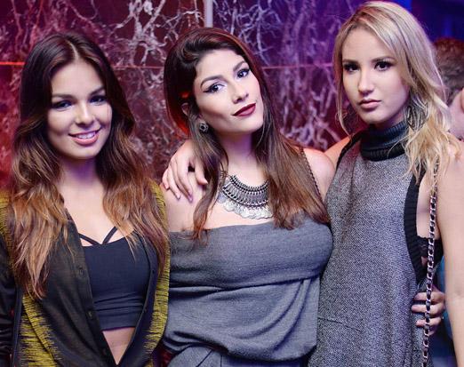Amanda Gomes, Miriam Braga e Stephane Rangel
