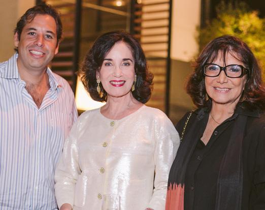 André Mendes Caldeira, Eleonora Rosset e Vera Suplicy