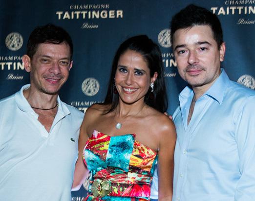 André Piva, Paula Severiano Ribeiro e Carlos Tufvesson
