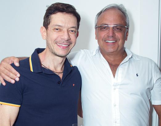 André Piva e Marcelo Evaristo