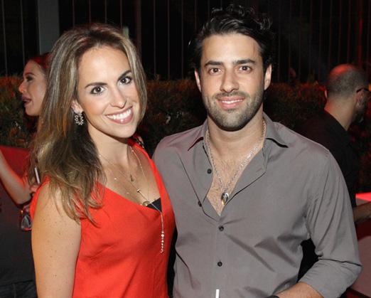 Anna Beatriz Manrubia e Felipe Scarpa