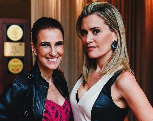Bebel Schmidt e Claudia Arbex
