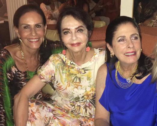 Beth Pinto Guimarães, Vera Loyola e Regina Marcondes Ferraz
