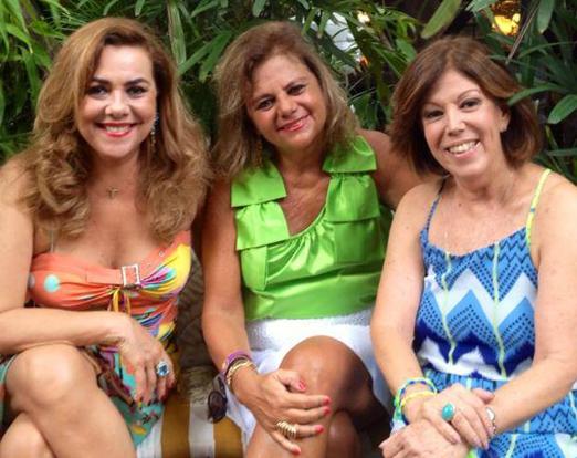 Carmen Emília Xavier Nunes, Rosana Rodrigues e Sylvia de Castro