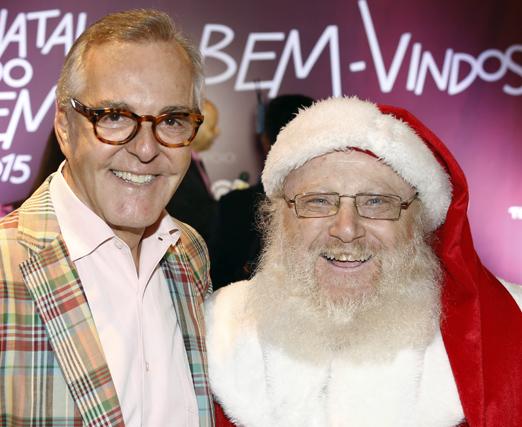 Cesar Giobbi e Papai Noel