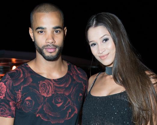 Douglas Tavares e Maria Luisa Melo