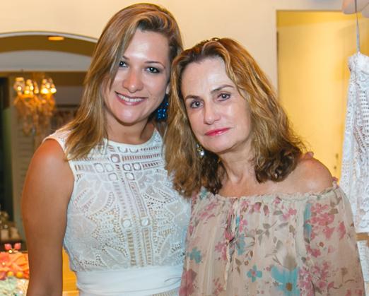 Emannuela Carvalho e Georgina Brandolini