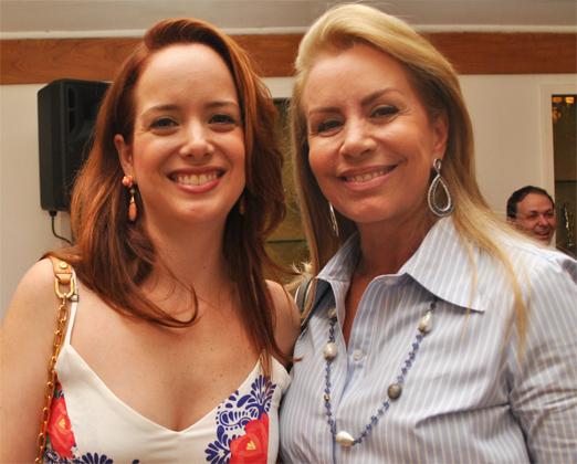Fernanda Gollo com a mãe Marise