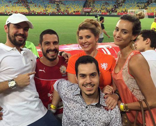 Harry Collecta, Rodrigo Costa, Yuri Cal, Bianca Marques e Luciana Costa