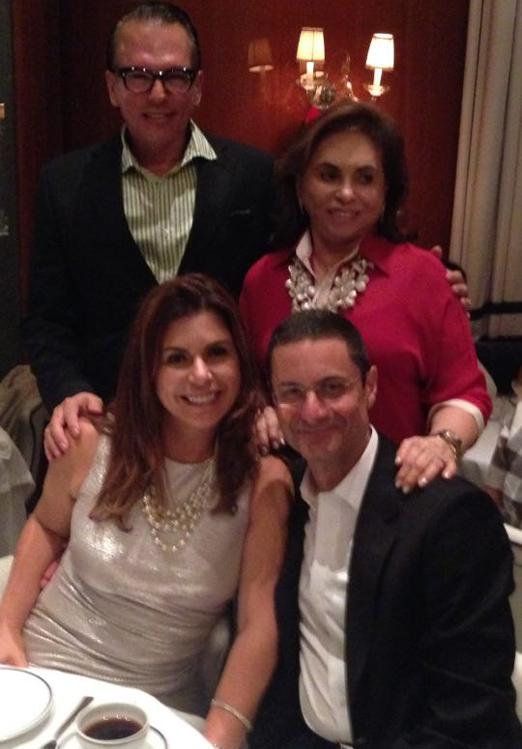 Heckel e família em Miami