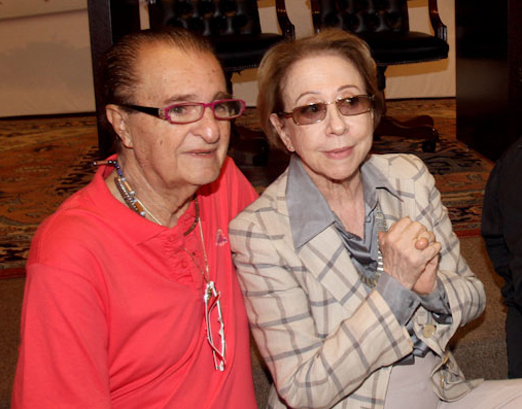 Humberto Saade e Fernanda Montenegro