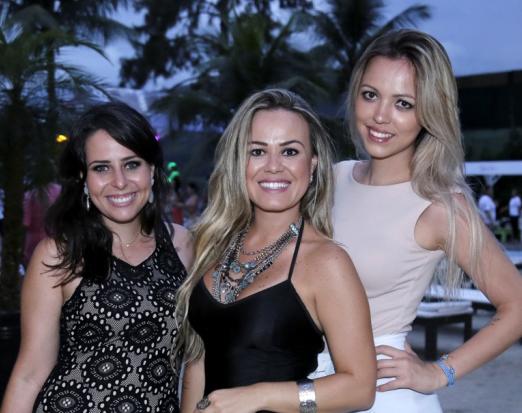 Laura Secamilli, Jac Rodrigues e Carolina Liguori
