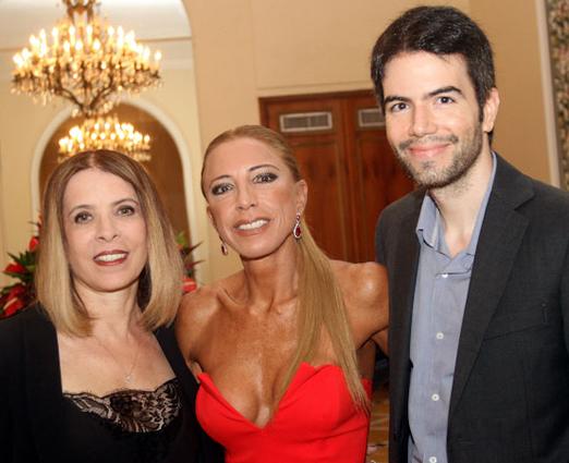 Liège Monteiro, Christina Leite e Luiz Fernando Coutinho