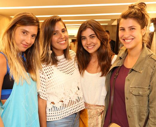 Lu D'Angelo, Val Veras, Ana Beatriz Poswolski, Lara D'Avila