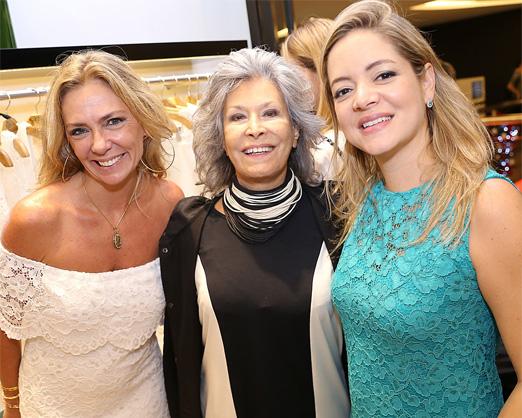 Márcia Veríssimo, Gisella Amaral e Bianca Gibbon