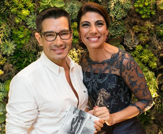 Marcelo Hicho e Raquel Abdu