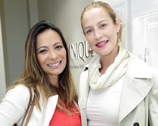 Marcia Romão e Luana Piovani
