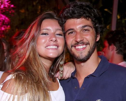 Maria Eduarda Cardoso e Fernando Pedrozo