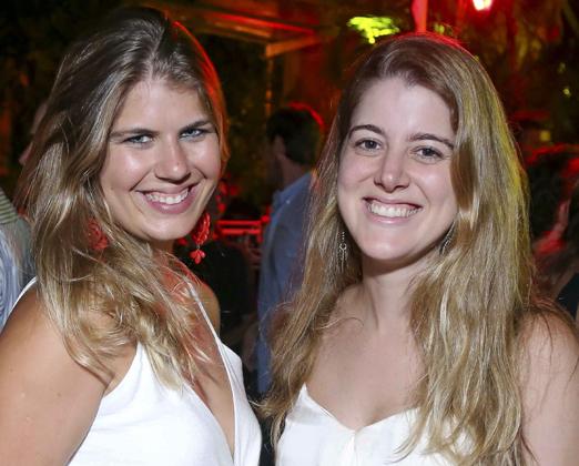 Maria Eduarda Moog e Maria Beatriz Bragança