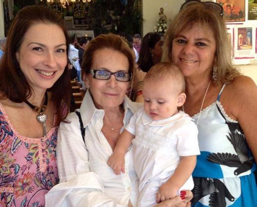 Mylene Peltier, Fátima Martins, Gabriel e Rosana Rodrigues